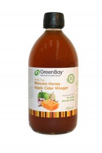 Green Bay Apple Cider Vinegar with Raw Manuka Honey